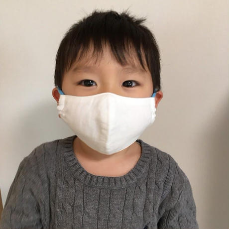 【Sサイズ/ホワイト】お直し職人が作る手作りマスク