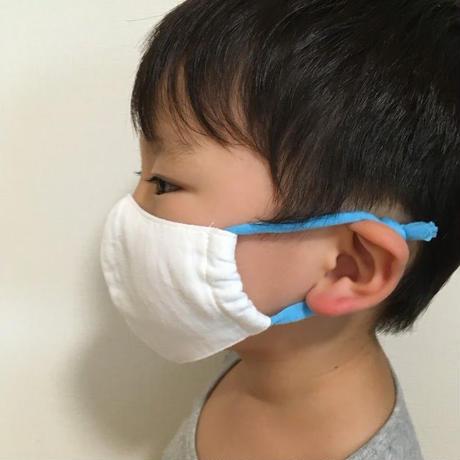 【Sサイズ/ブルー】お直し職人が作る手作りマスク