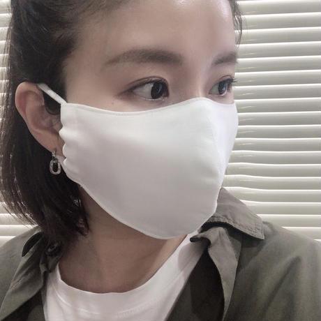 【Mサイズ/ホワイト】お直し職人が作る手作りマスク