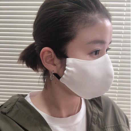 【Mサイズ/ブラック】お直し職人が作る手作りマスク