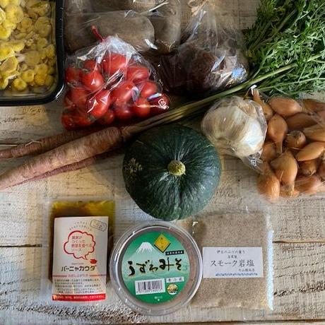 お中元Dセット:8種の野菜と調味料セット
