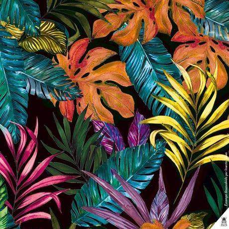STRAP SANDAL/ Folhagem Technicolor