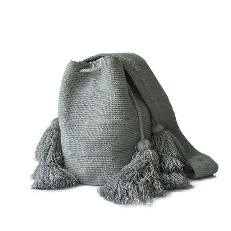 Wayuu mochila/ All gray