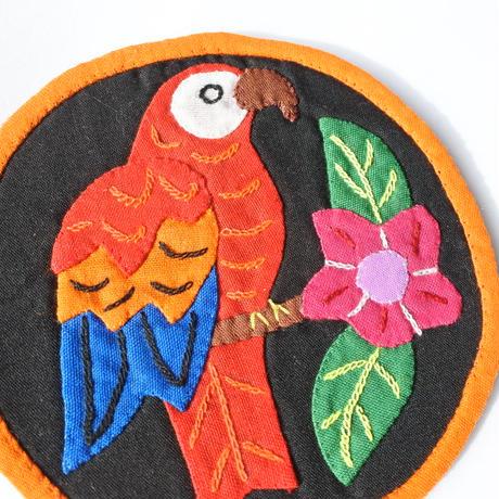 モラコースター 小鳥さん A  【4枚セット】