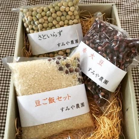 高崎有機大豆と豆ごはんセット