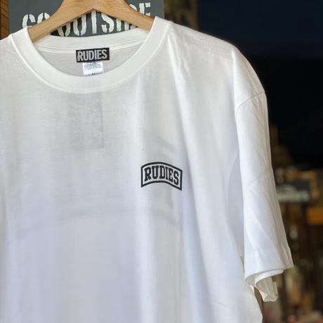 【RUDIES】EMBER TEE / WHITE XL