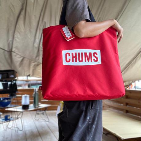 【CHUMS】ブービーフェイスフォールディングファイヤーピットツールケース(キャンプグッズ トートバッグ)