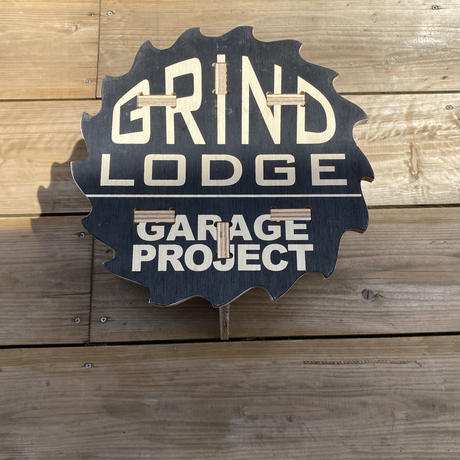【GRIND LODGE × Tattam】スツールC