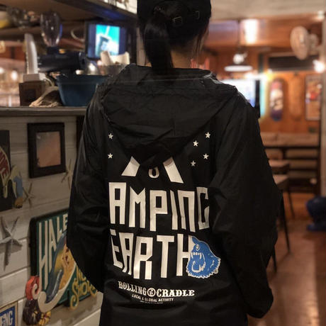 CAMPING EARTHx Rolling Cradlle コラボマウンテンパーカー