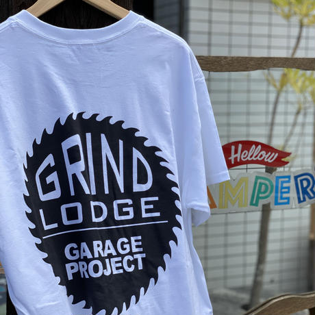 NEW!!【GRINDLODGE × Hellow CAMPER'S】CAMP HOLIC TEE