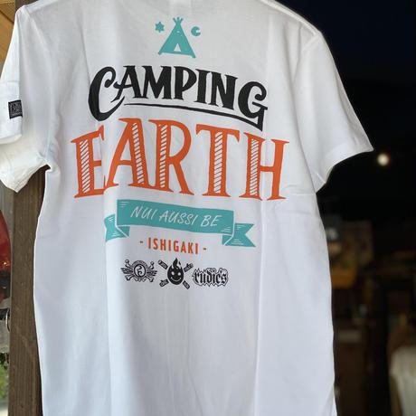 【CAMPING EARTH オリジナル】CAMPING EARTH TEE