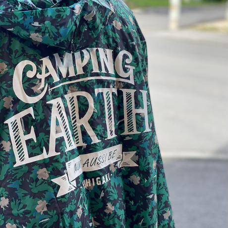 【CAMPING EARTH オリジナル】CAMPING EARTH PONCHO