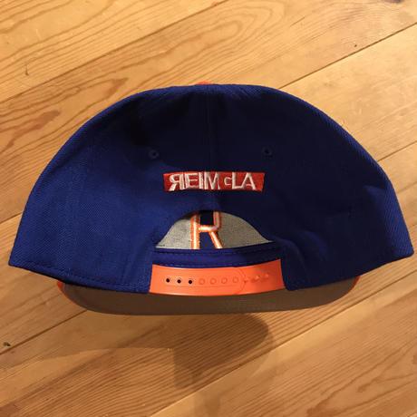 REIMGLA BB Cap(Blue×Orange)