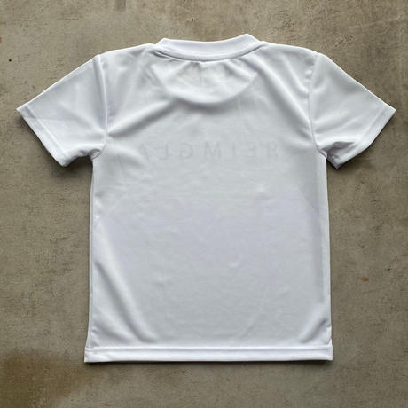 REIMGLA Simple Logo Dry  KIDS-T( WHITE)