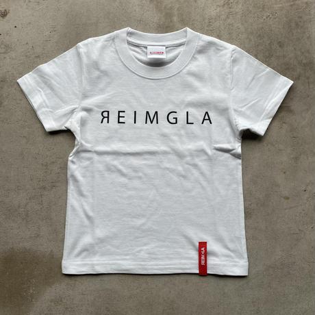 REIMGLA Simple Logo KIDS-T(WHITE)