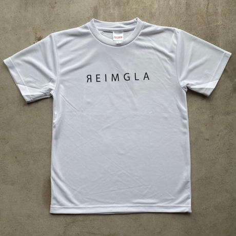 REIMGLA Simple Logo Dry T-shirts( WHITE)