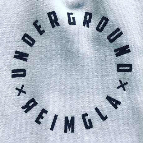 REIMGLA HalfZipUp Sweat(White)