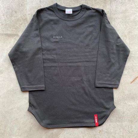 REIMGLA Simple Baseball T-shirts( 3/4Sleeve)