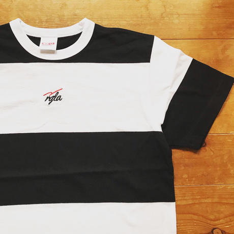 REIMGLA Border T-Shirts(BLACK15cm)
