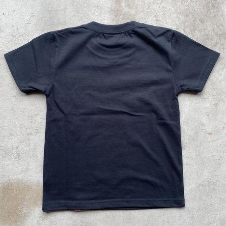 REIMGLA Simple Logo KIDS-T(BLACK)
