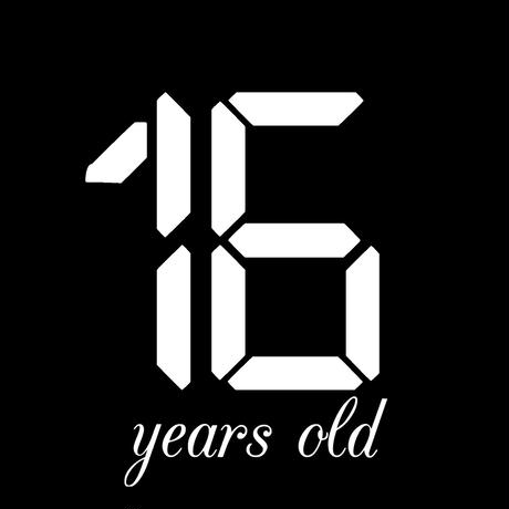 「16 years old」CD