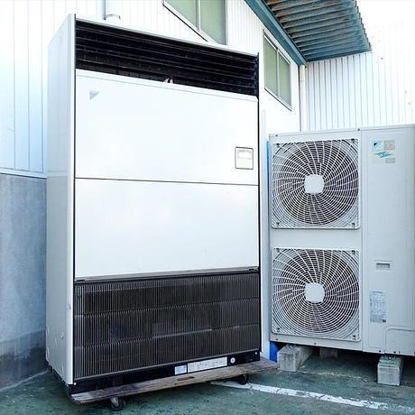 宮崎県内限定工事価格込み 業務用パッケージエアコン ダイキン床置型 10馬力 2012年製 内機FVP280A + 外機RZYP280BB