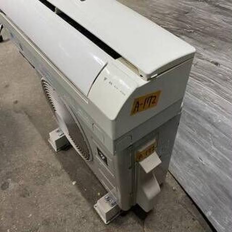 宮崎県内限定標準工事価格込み  エアコンSHARP(シャープ)内機AY-D22SD-W外機AU-D22SDYリモコン有り冷暖2.2kw 100V 2014年製
