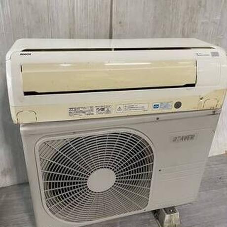 宮崎県内限定標準工事価格込み  三菱 内機/外機 SPK22TN-W/SRC221W 2012 冷暖兼用 2.2/2.5kw 100V