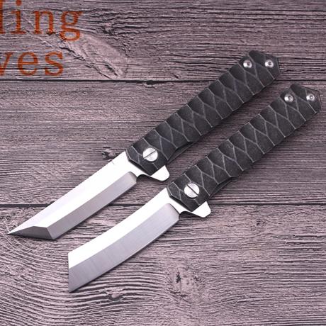サバイバル ナイフ アウトドア タクティカル フォールディング ナイフ