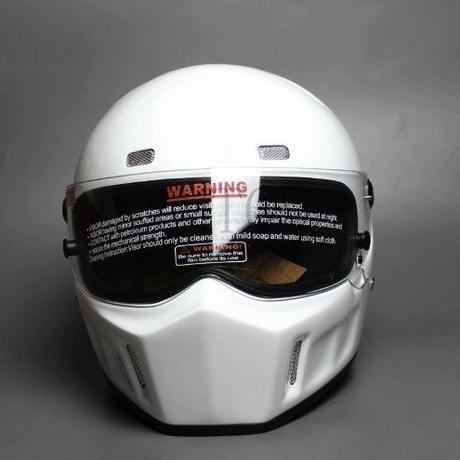 レーシング ヘルメット シンプソン バンディット 風 フルフェイス 格安!