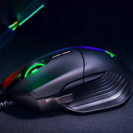 Razer ゲーム ゲーミングマウス Basilisk バシリスク 16000 DPI RGB 5 G光学センサー取り外し可能DPIクラッチ8ボタン