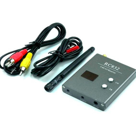 ワイヤレス レシーバー ドローン 用 カメラ HD AV RC832 受信機