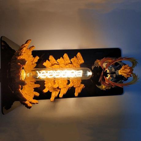 ファイナルフラッシュ ドラゴンボール バトル フィギュア LED ナイトライト