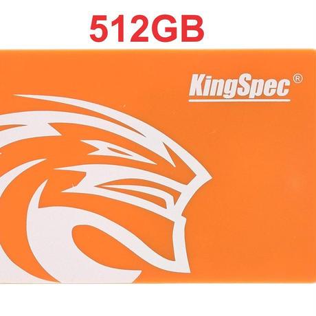 SSD メーカー KingSpec 512GB NAND SATA3  2.5インチ