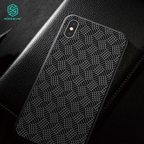 Nillkin iPhone X/Xs ケース チェック柄 スマホケース