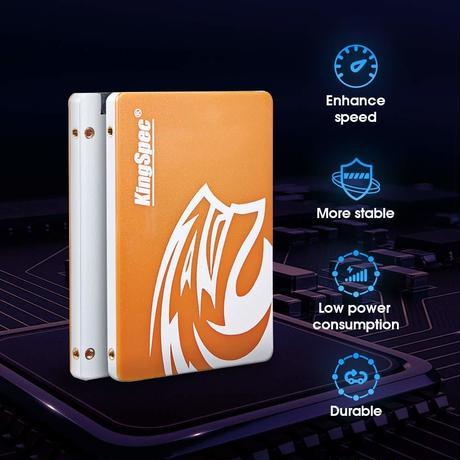 SSD メーカー KingSpec 256GB NAND SATA3  2.5インチ