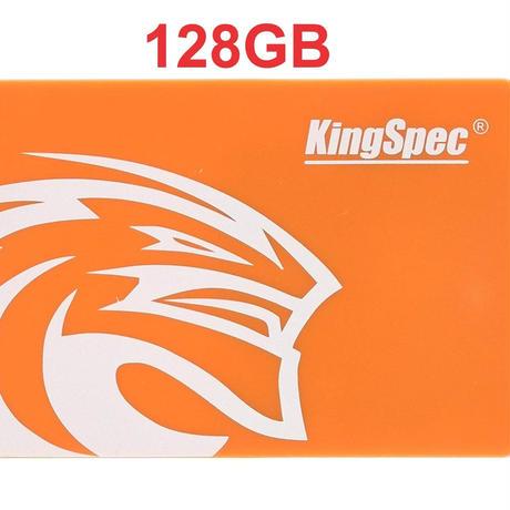SSD メーカー KingSpec 128GB NAND SATA3  2.5インチ