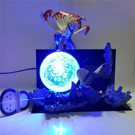 螺旋丸 ナルト NARUTO ミナト オビト バトル フィギュア LED ナイトライト