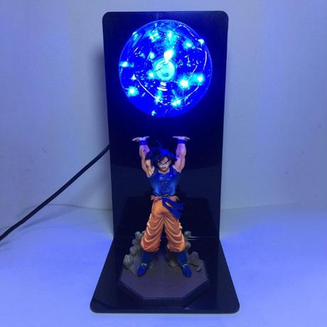 元気玉 ドラゴンボール フィギュア LED ナイトライト