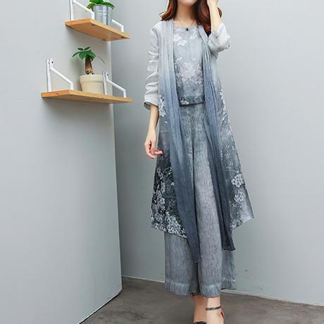韓流 女性 ファション シルク 麻 ベスト