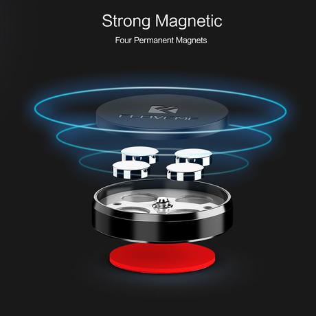magnet マグネット スマホホルダー FLOVEME 2個セット 車載 キッチン ギフトにも♪