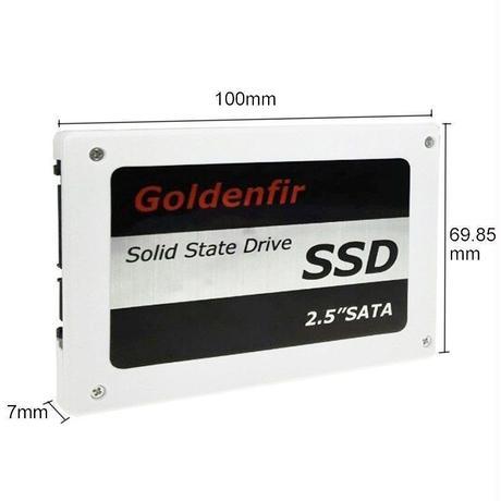 パソコン 遅い SSD Goldenfir 512GB SATA 2.5インチ NAND 価格最安!