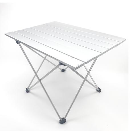 アウトドア ロールテーブル アルミ合金 折りたたみ キャンプ テーブル