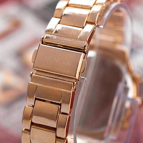 GENEVA ジェネバ ジュネーブ 腕時計 クォーツ レディース ラグジュアリー
