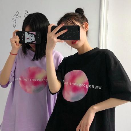 トレンド 原宿 トップス ファッション プリント Tシャツ 2019 夏