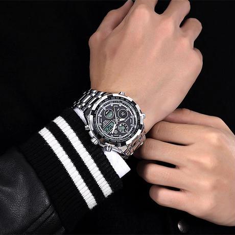 Goldenhour 腕時計 メンズ 高級 ブランド クォーツ