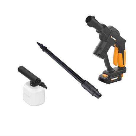高圧洗浄機 20V 充電式 コードレス 調節可能なノズル 簡単操作 庭掃除や洗車に最適
