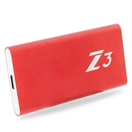 PS4 USB 外付け SSD KingSpec Z3  512GB Type-C USB3.1