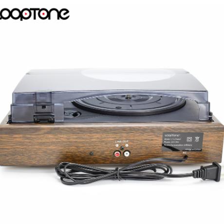 ターンテーブル レコードプレーヤー LoopTone 3 W/2 内蔵スピーカー RCA ラインアウト AC110 〜 130V & 220 〜 240V