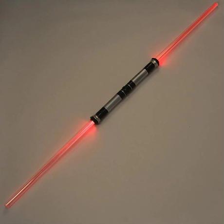 ライトセーバー おもちゃ スターウォーズ ダブルレーザー 2パック 6色変化